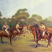 The Polo Match Poster