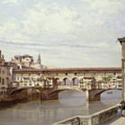 The Pontevecchio - Florence  Poster