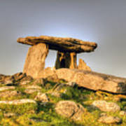 The Poulnabrone Dolmen Poster