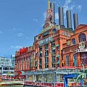 The Power Plant In The Baltimore Inner Harbor Poster