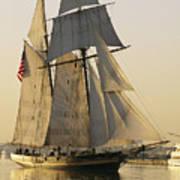 The Pride Of Baltimore Clipper Ship Poster