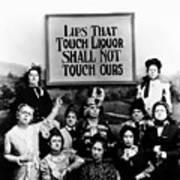 The Prohibition Temperance League 1920 Poster