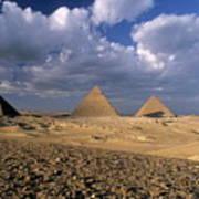The Pyramids At Giza Poster