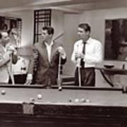The Ra Pack Sammy Davis Jr, Frank Sinatra Dean Martin Poster