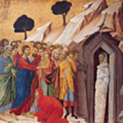 The Raising Of Lazarus Poster