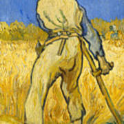 The Reaper Poster by Vincent van Gogh