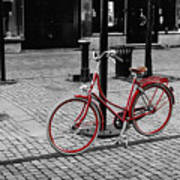 The Red Bicycle Photograph By Marcus Karlsson Sall