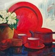 The Red Still Life Poster