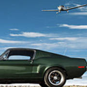 The Rendezvous - 1968 Mustang Fastback Poster