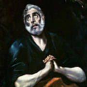 The Repentant Peter El Greco Poster