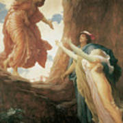 The Return Of Persephone Poster by Frederick Leighton