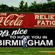 The Rickwood Classic - Birmingham Alabama Poster