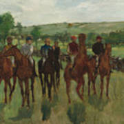 The Riders, 1885 Poster