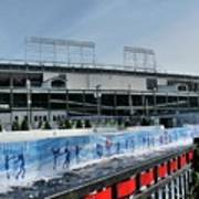 The Rink At Wrigley Poster