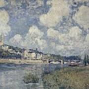 The River At Saint Cloud Poster
