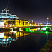 The River Liffey Reflections 3 Poster