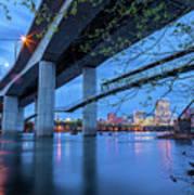 The Robert E Lee Bridge Poster