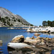 The Rocks Of Treasure Lake Poster