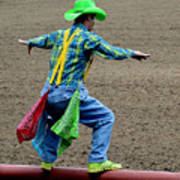 The Rodeo Clown Poster