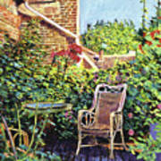 The Roof Garden Poster by David Lloyd Glover