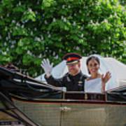 The Royal Wedding Harry Meghan Poster