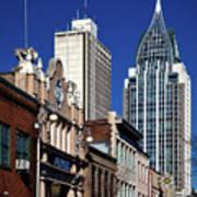 The Rsa Tower - Mobile Alabama Poster