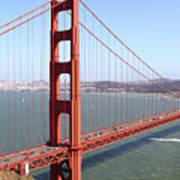 The San Francisco Golden Gate Bridge 7d14507 Panoramic Poster