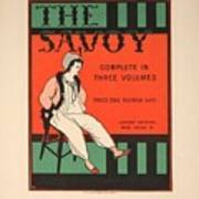 The Savoy Poster