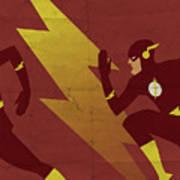 The Scarlet Speedster Poster