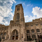 The Scottish Rite Cathedral - Indianapolis Poster