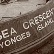 The Sea Crescent Poster