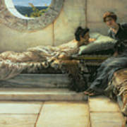 The Secret Poster by Sir Lawrence Alma-Tadema