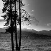 The Selkirk Mountains On Priest Lake Poster