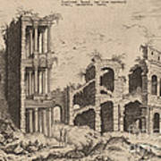 The Septizonium And The Colosseum Poster