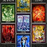 The Seven Deadly Sins Poster