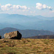 The Smokies From Roan Mountain I Poster