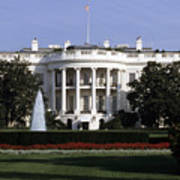 The South Side Of The White House Poster