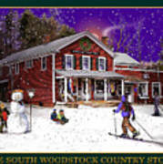 The South Woodstock Country Store Poster
