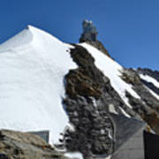 The Sphinx At Jungfrau Poster