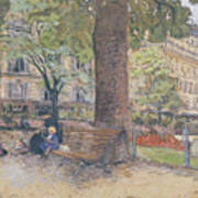 The Square At Vintimille Poster by Edouard Vuillard