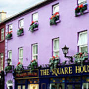 The Square House  Athlone Ireland Poster