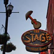 The Stage Nashville Poster