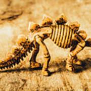 The Stegosaurus Art In Form Poster