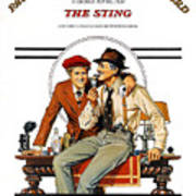 The Sting, The, Robert Redford, Paul Poster