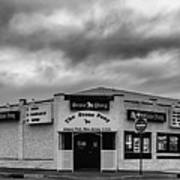 The Stone Pony Asbury Park New Jersey Black And White Poster