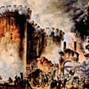 The Storming Of The Bastille, Paris Poster