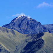 The Summit Of Mount Cotacachi Poster