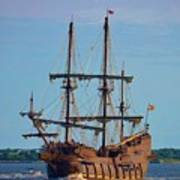 The Tall Ship El Galeon Poster