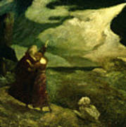 The Tempest Poster by  Albert Pinkham Ryder