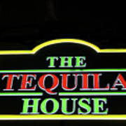 The Tequila House, New Orleans Poster